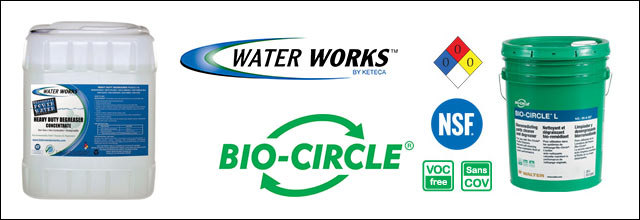 Parts Washing Products, Water Works & Bio-Circle